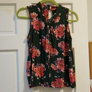 Anthropologie Vanessa Virginia tank floral small